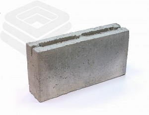 Перегородочный керамзитобетонный блок 9см