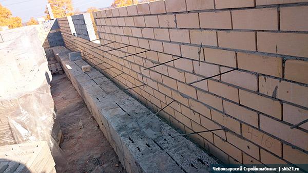 Облицовка при строительстве из керамзитоблоков
